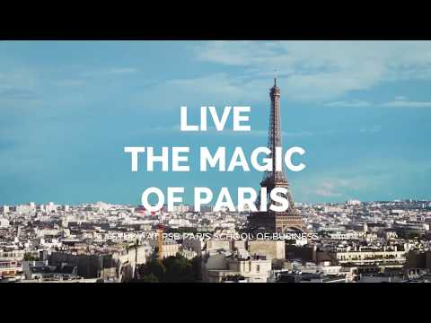 Study at PSB and live the magic of Paris!