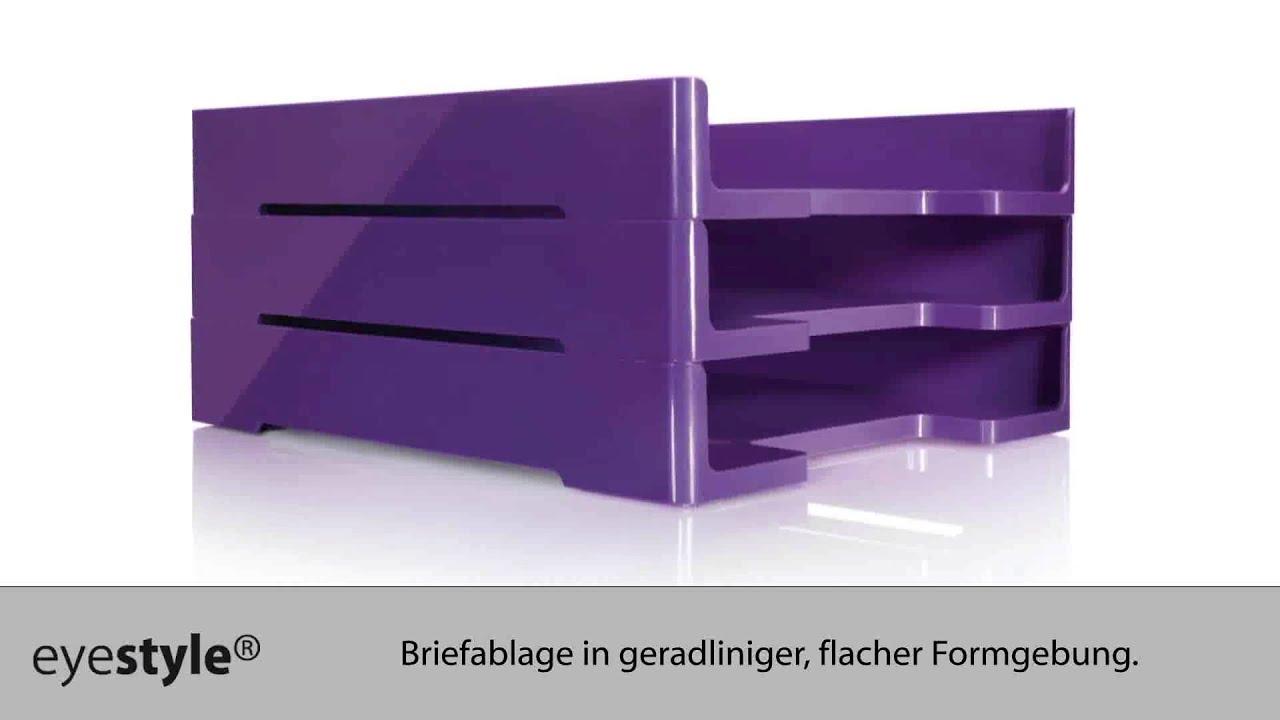 Foto Schreibunterlage schreibunterlage eyestyle® violet - youtube