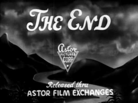 Astor Pictures Corporation end title