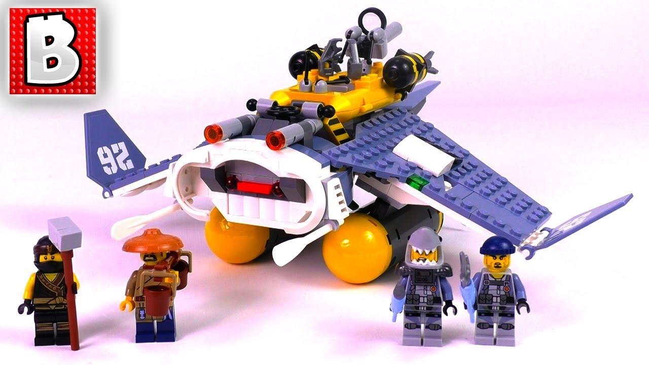 3dacd1b18 LEGO Ninjago Movie Manta Ray Bomber 70609! | Unbox Build Time Lapse ...