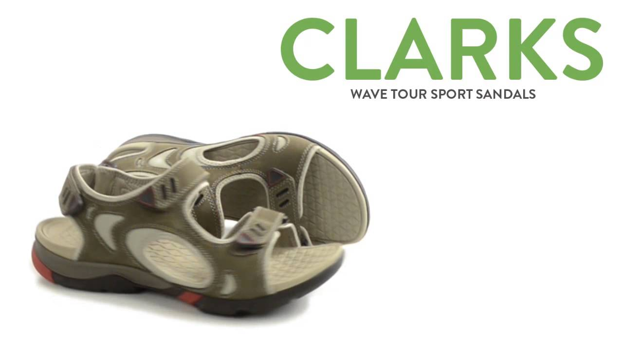 e2ea02a0b6b Clarks Wave Tour Sport Sandals (For Men) - YouTube