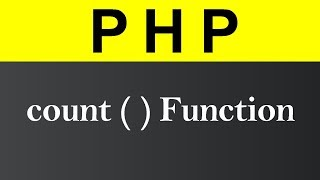 count Function in PHP (Hindi)