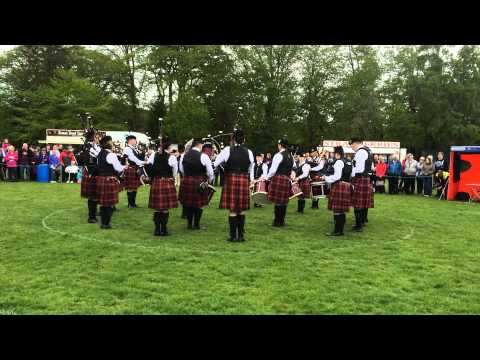 Portlethen & District Pipe Band: Banchory 2015 Grade 2 medley