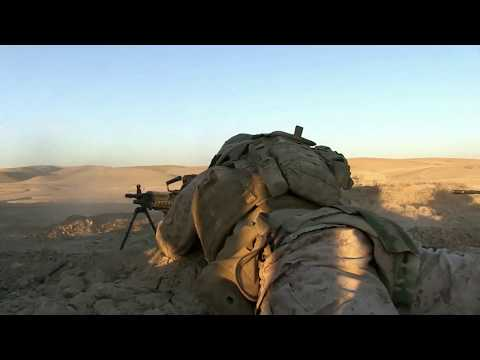 US Marines Using Air Support | Combat Footage