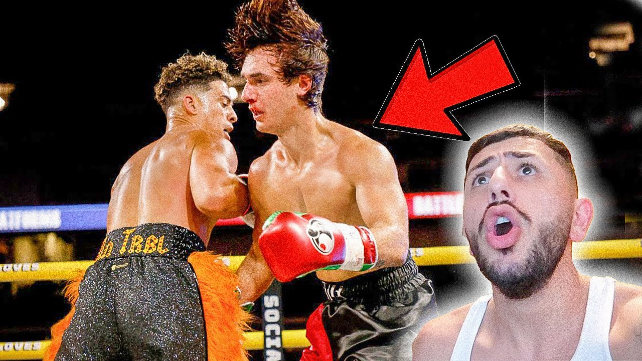 Front Row to Austin Mcbroom vs Bryce Hall BOXING EVENT! **Behind the Scenes**