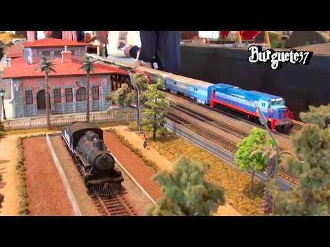 XXI Convención FM y FA Queretaro - Trenes de Pasajeros Escala HO