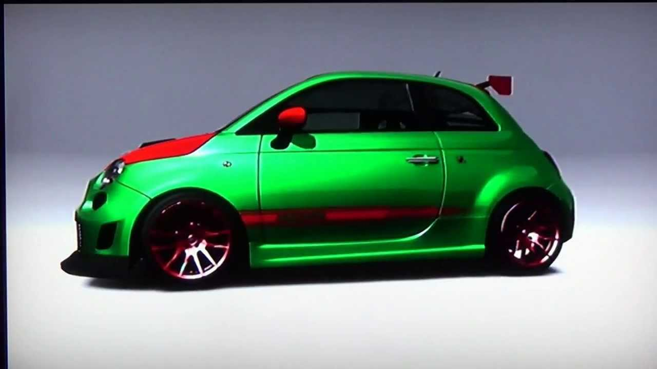 Fiat 500 Abarth Alf Tuning Youtube