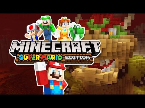 CAT IN A FROG SUIT!! | Minecraft : Super Mario Edition - Wii U
