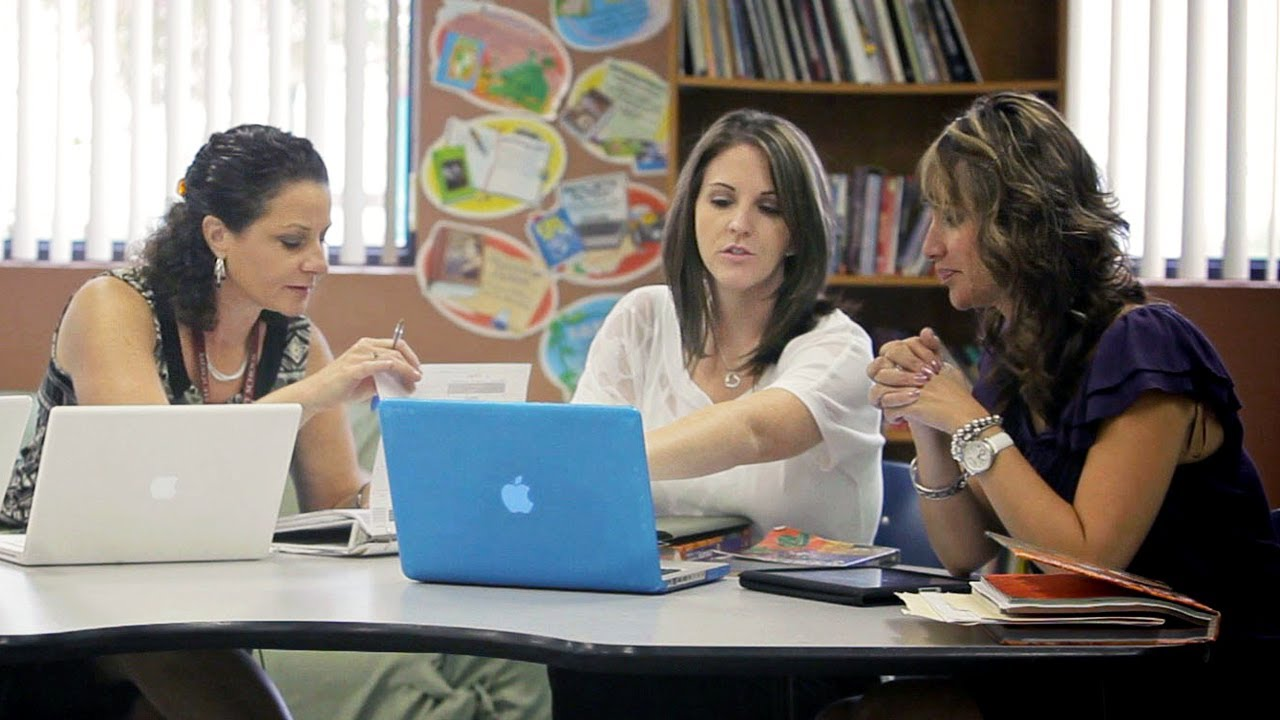 Collaborative Teaching ~ How teachers collaborate online and in school youtube