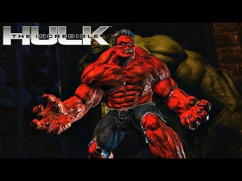 Red Hulk Gameplay - The Incredible Hulk Game (2008)