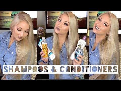 ♚ Shampoos & Conditioners I Use ♚ | Sulfate/Silicone Free
