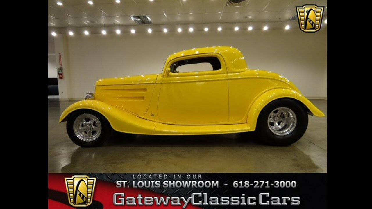1933 Ford Coupe -Gateway Classic Cars in St. Louis, MO - YouTube