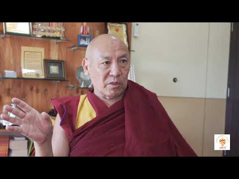 Teaching in English by Geshe Lhakdor la on Nonviolence and Buddhism