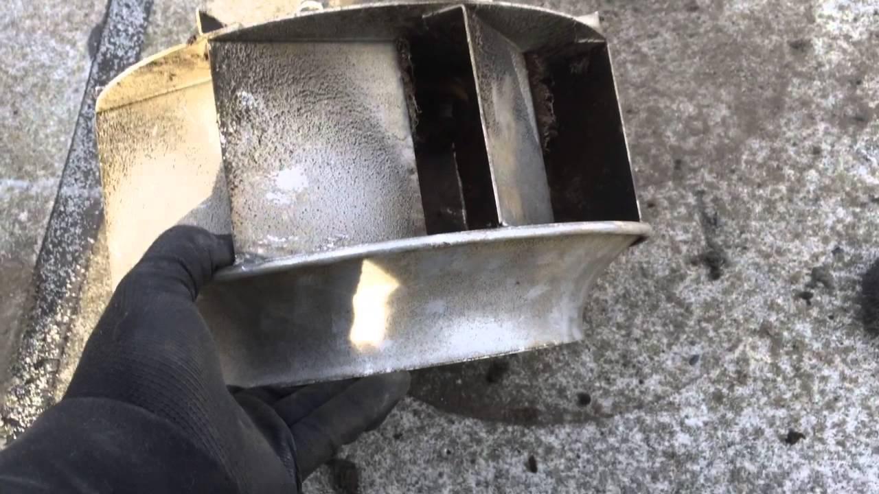 exhaust fan motor change out