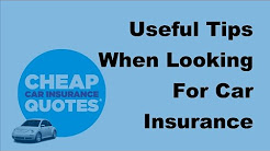2017 Car Insurance Cover | Useful Tips When Looking For Car Insurance Cover in the UK