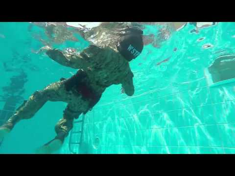 U.S. Coast Guard Water Survival Training