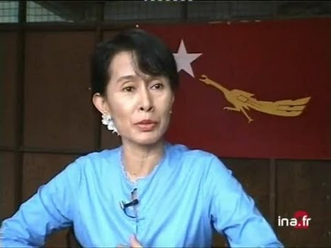 Birmanie : interview Aung San Suu Kyi