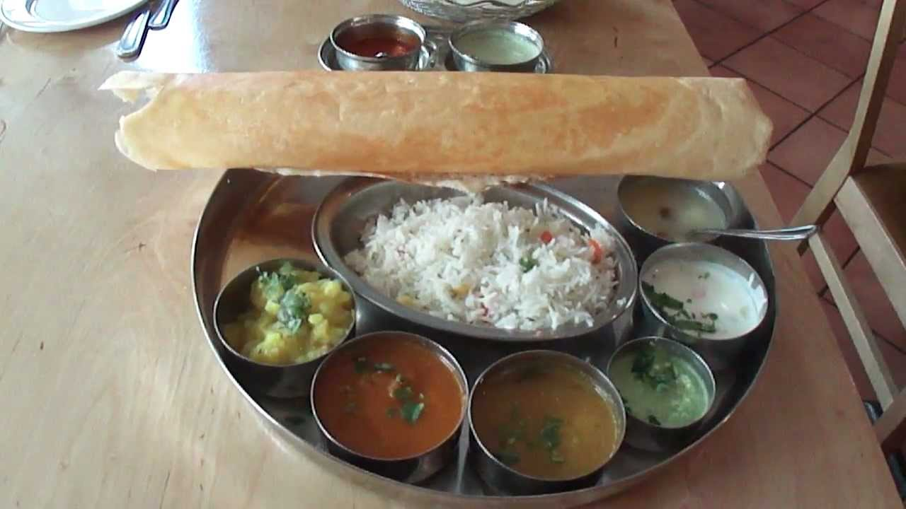 Lunch Thali At Sagar Vegetarian Restaurant Catherine Street Covent Garden London 28 08 2012