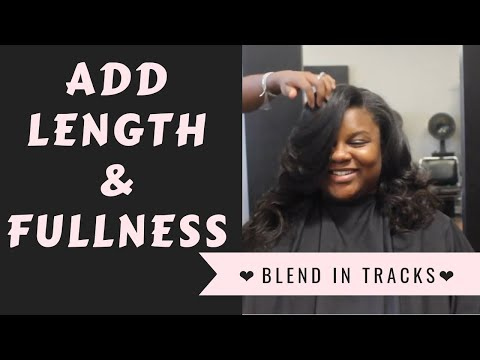 Add Length & Fullness Without A Full Weave