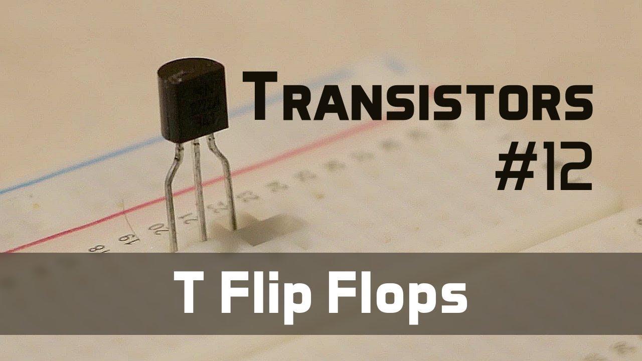hight resolution of t flip flop transistors 12