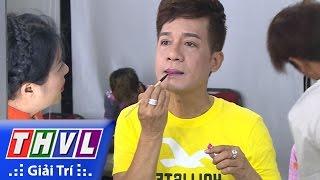 THVL | Cười xuyên Việt - Tiếu lâm hội: Nghệ sĩ Minh Nhí tự đánh son trong hậu trường