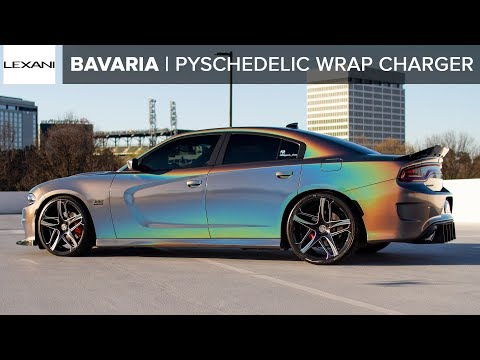3m Gloss Flip Psychedelic Dodge Charger R T Scat Pack On