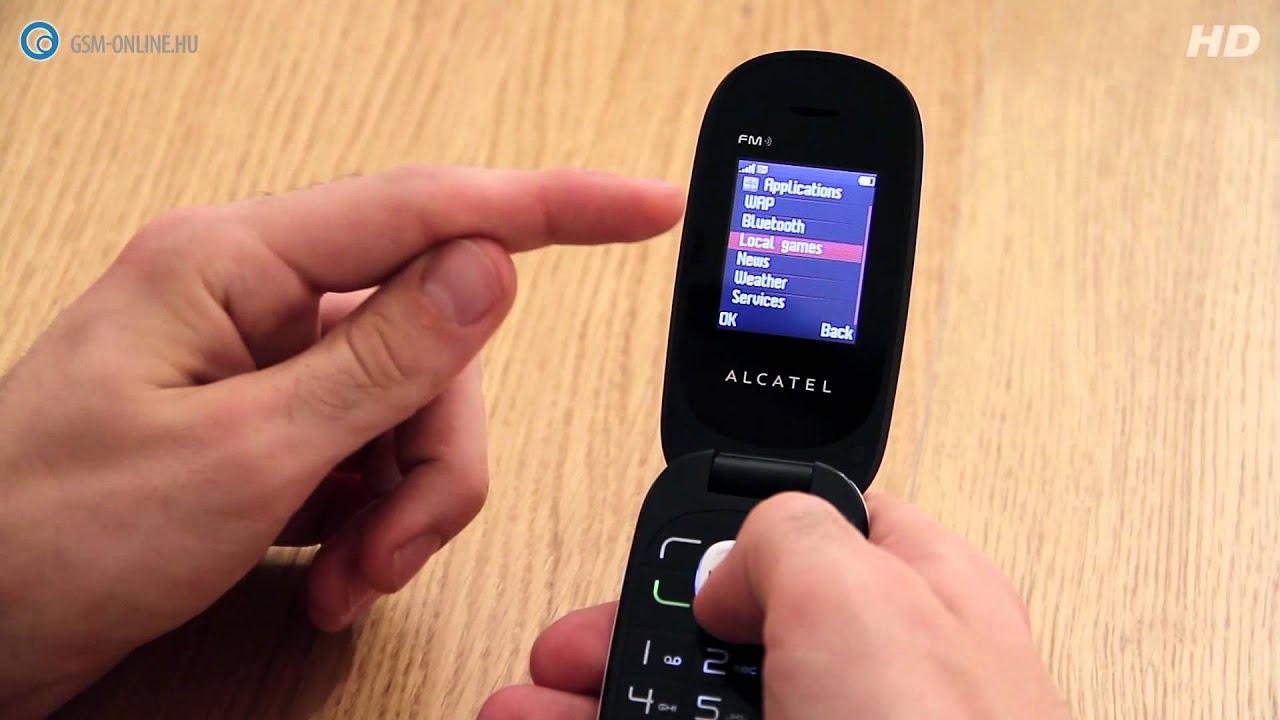 Fonkelnieuw Alcatel OneTouch 665 teszt - GSM online™ - YouTube EM-43