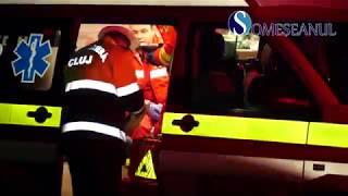 Accident la Livada. Mașină izbită de un TIR