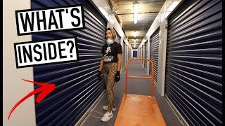 WE BOUGHT AN ABANDONED STORAGE AUCTION LOCKER - What Did We Find Inside?