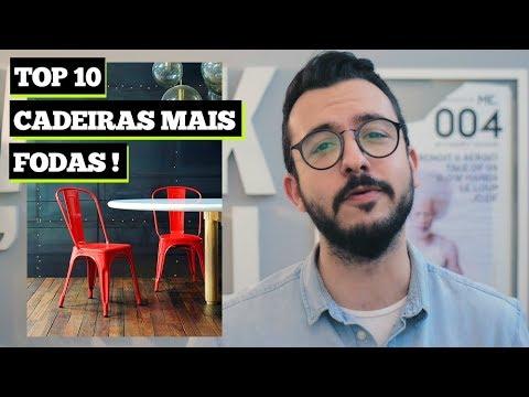 TOP 10 CADEIRAS para sua SALA   as melhores da história do design   Paulo Biacchi