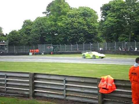 FIA GT3 racing at Oulton park 2011