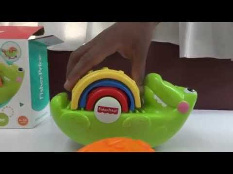 Fisher price Stack & Rock Croc |Baby toys