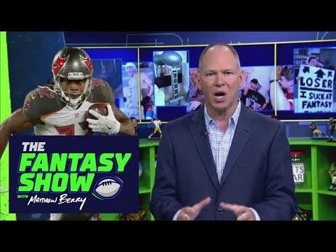 Matthew Berry High On Buccaneers RBs This Season | The Fantasy Show With Matthew Berry | ESPN