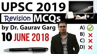 REVISION - UPSC 2019 Preparation - 10th June 2018 Daily Current Affairs for UPSC / IAS 2019
