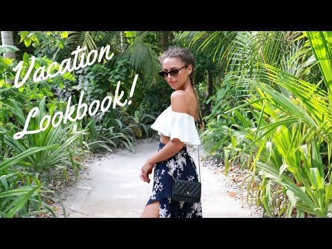 VACATION LOOKBOOK | Outfits from the Maldives! Annie Jaffrey