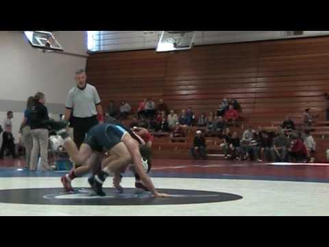 Luther Open 133 - Cory Clark (Iowa) vs Lincoln Monroe (Upper Iowa)