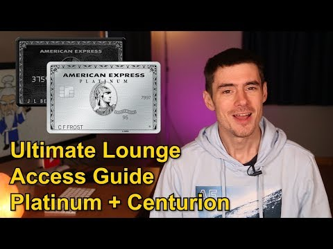 Amex Platinum: Full Lounge Access Guide