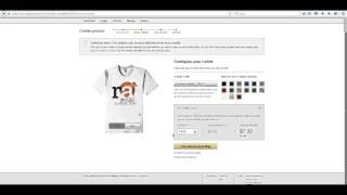 Amazon TARAFINDAN izlenecek yol Merch bir T oluşturma-POD ile para kazanmak e - ticaret Gömlek -