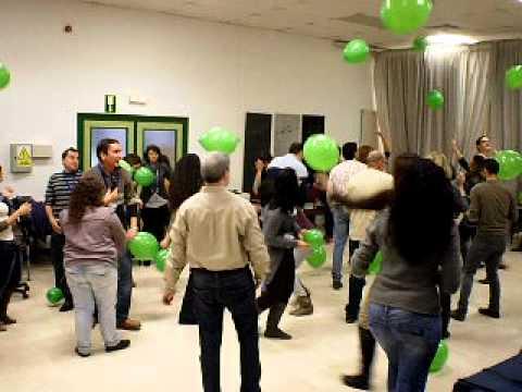 Juego Con Globos Jornada Dinamizadores Sevilla Diciembre 2010