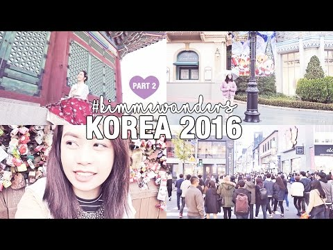 Korea Vlog Part 2: Everland, Wearing a Hanbok, Sannakji, N Seoul Tower | Kimpossibly Gorgeous