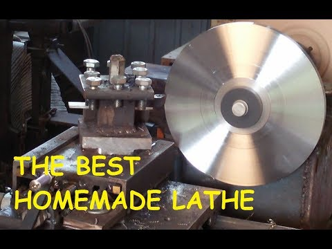 the best homemade metal lathe