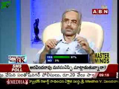 Aravind Rao Ex DGP of Andhra Pradesh in Open Heart Part-I