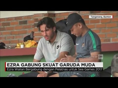 Tiba di Indonesia, Ezra Walian Siap Tarung Bersama Timnas PSSI U-22 di Sea Games 2017