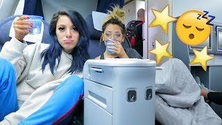 Sister Sleepover in First Class! VLOGMAS DAY 2! Niki DeMar