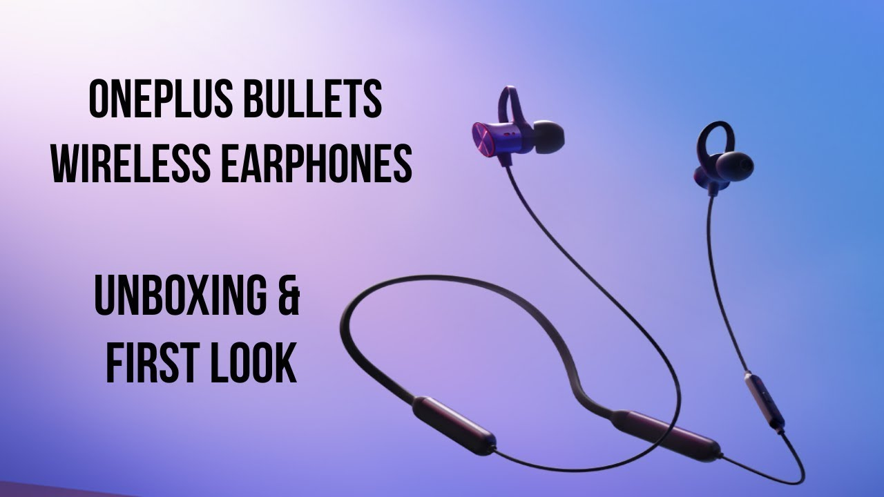 b9b33dafee9 OnePlus Bullets Wireless earphones to go on sale in India on June 19