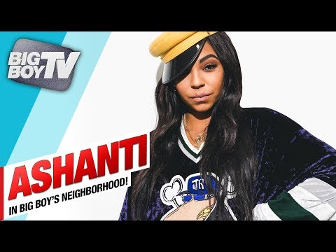 Ashanti on Her New Song, 'Say Less', Label & Ciroc Billboard | BigBoyTV