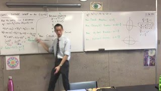 Further Work on the Ellipse (3 of 4: Completing the Square to find the general form of the Ellipse)