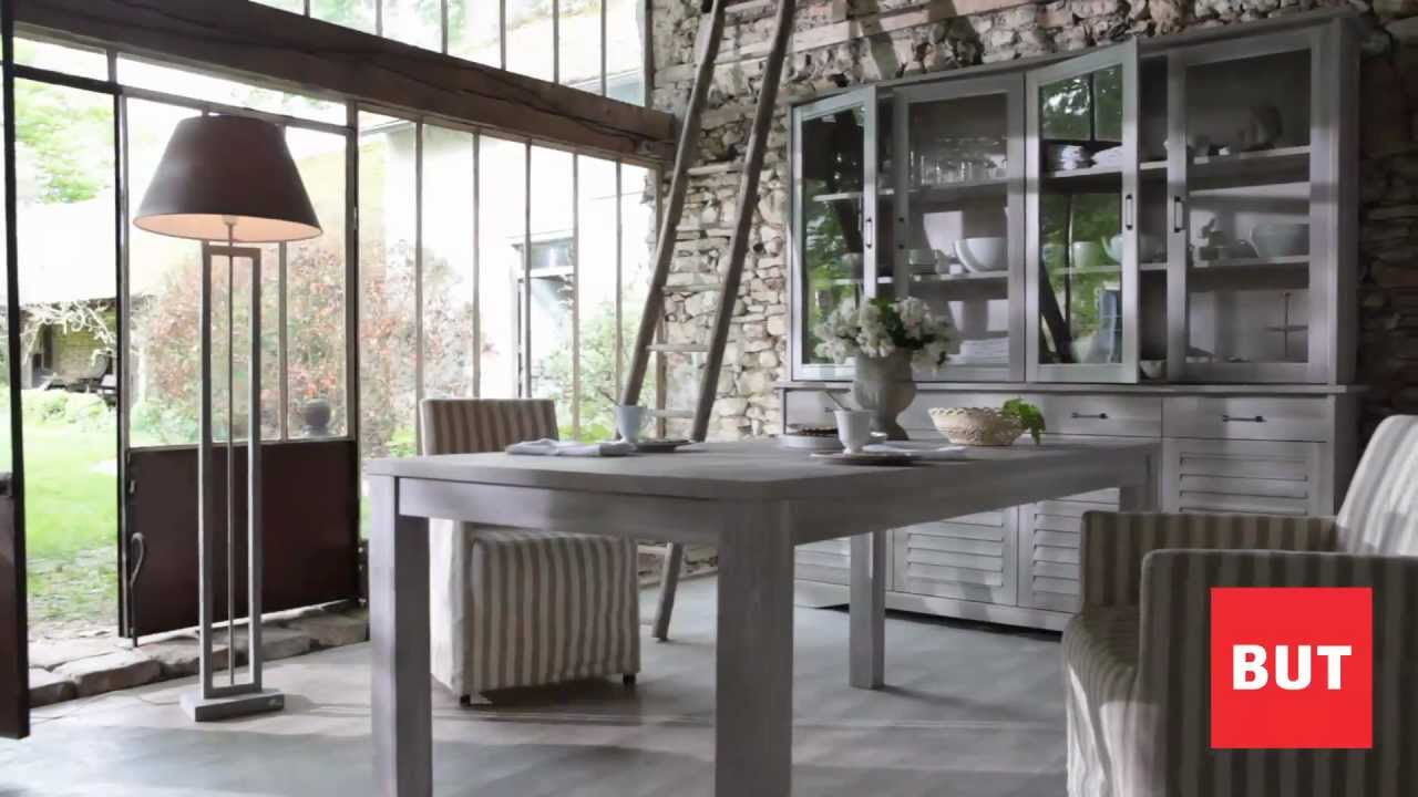S jour salle manger style campagne catalogue but for Decoration maison style campagne chic