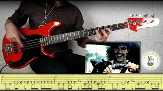 Red Hot Chili Peppers - By the way (Bass cover with Tabs)