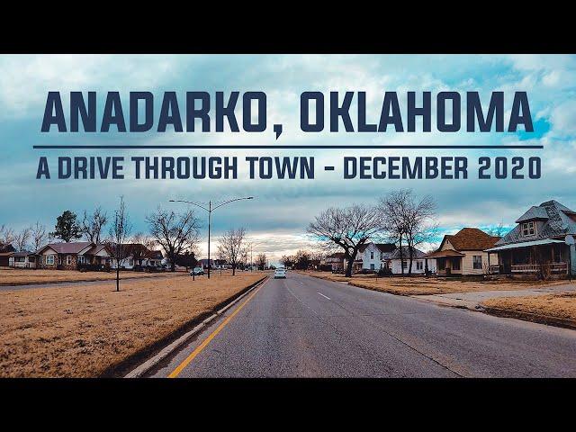 Anadarko, Oklahoma / A Drive Through Town / December 2020